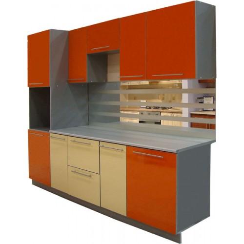 Готовая кухня Оранж-Ваниль-1