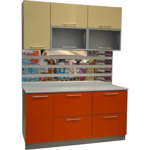 Готовая кухня Оранж-Ваниль-2
