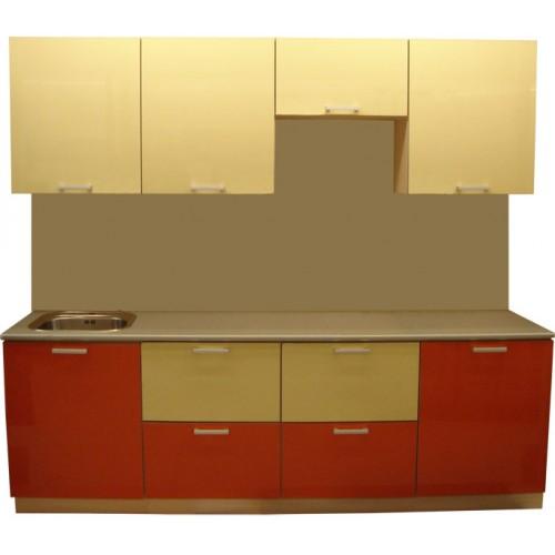 Готовая кухня Оранж-Ваниль-3