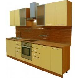 Готовая кухня Акрил-Ваниль