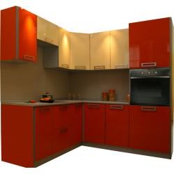 Готовая кухня Оранж-Ваниль
