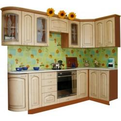 Готовая кухня Патина Беленый Дуб-2