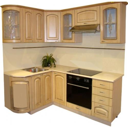 Готовая кухня Патина Беленый Дуб-3