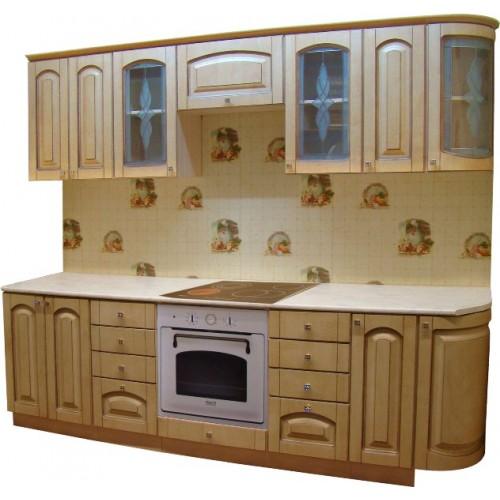 Готовая кухня Патина Беленый Дуб-4