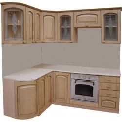 Готовая кухня Патина Беленый Дуб-5