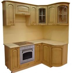 Готовая кухня Патина Беленый Дуб-6