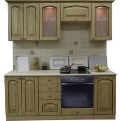 Готовая кухня Патина Беленый Дуб-9