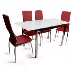 Стол стеклянный обеденный СС-2114
