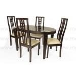 Стол обеденный овальный Оникс