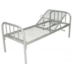 Кровать для лежачих больных с регулируемым подголовником 184-1