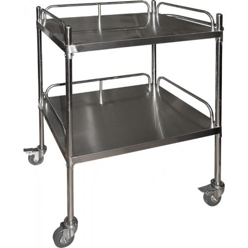 Столик  для процедурного кабинета SH-T009 2-х полочный