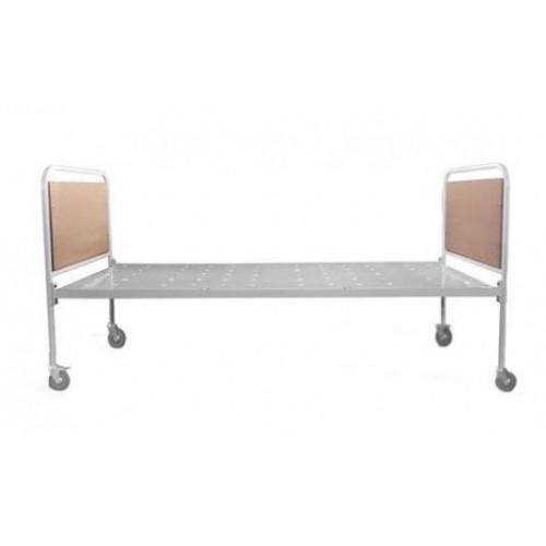 Кровать общебольничная односекционная 180-015 на колесах