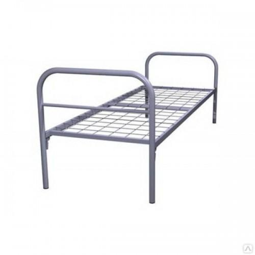 Кровать одноярусная с сеткой 100*100 мм