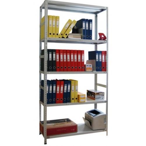 Стеллаж металлический архивный ST 200*100*50 P4 разборные стойки