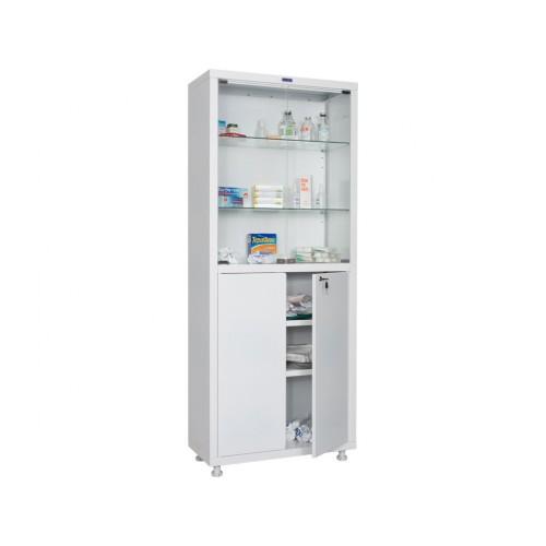Шкаф для медикаментов металлический двухстворчатый МЕШ2-1670