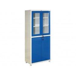 Шкаф медицинский двустворчатый со стеклом МЕШ2-1780Р