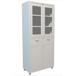 Медицинский шкаф двухдверный для медикаментов МЕШ2-1780Р2