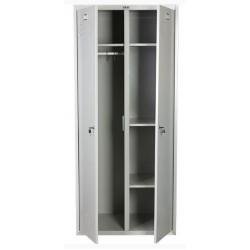 Шкаф медицинский для спецодежды (локеры) МЕШ21-80У