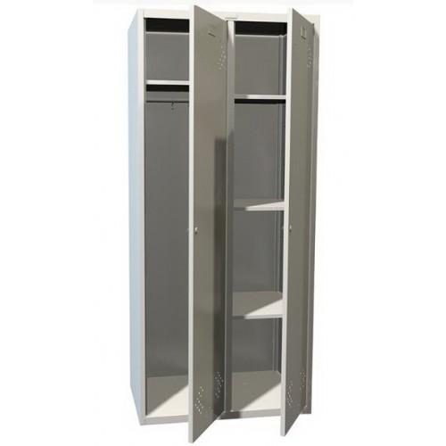 Шкаф-локер для раздевалки металлический МЕШ21-У