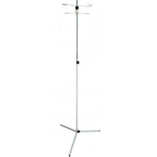 Стойка для капельницы телескопическая С-ШДТ-1960 на треноге