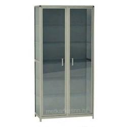 Шкаф-витрина лабораторный М-ШЛ2/03 стеклянный