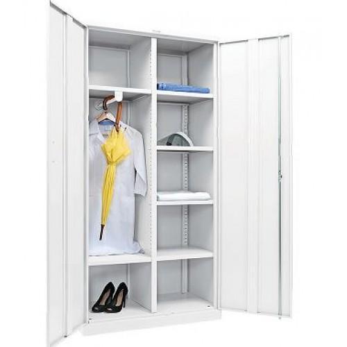 Шкаф медицинский МЕШ 2 ШМ для одежды металлический