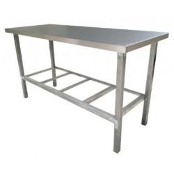 Стол производственный нержавеющая сталь AISI 430 ОП-СР-1200/600Т разборный
