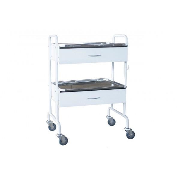 Манипуляционный столик с 2 ящиками