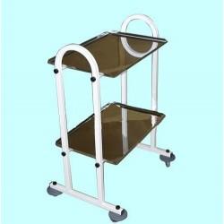 Столик медицинский для инструментов С-СИ-2Д двухполочный