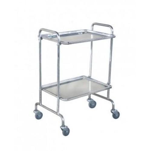 Столик для медицинских инструментов из нержавеющей стали Н138/9(н/ж)