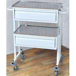 Столик для медицинского кабинета С-СМ2-1 с 2 ящиками