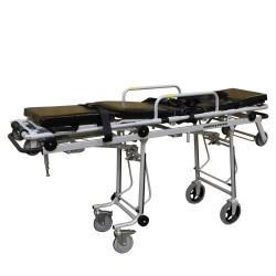 Тележка для спасателей ТСП-108 двухуровневая с кресельными носилками