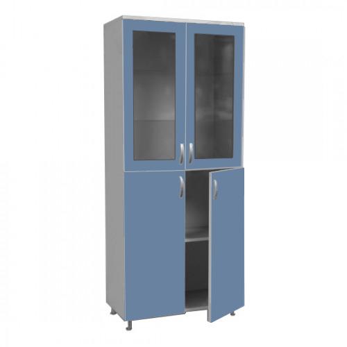 Шкаф двухстворчатый для хранения документов ШД 2/06 со стеклом