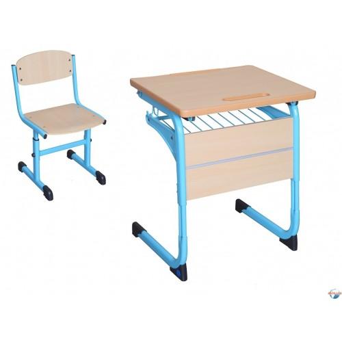 Комплект ученической мебели Ф-2-Н1  одноместный