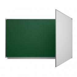Школьная доска комбинированная для письма мелом и маркером КВ-22
