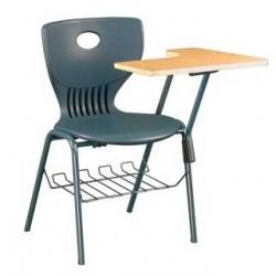 Стул ученический с пюпитром и полочкой под сидением Ф-У17
