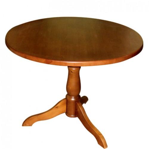 Стол деревянный круглый ДСт-8358