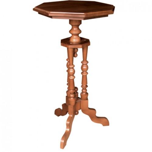Столик-подставка деревянный 8-ми гранный ДСт-8933