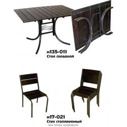 Складные столы.Стол складной для кафе М135-011