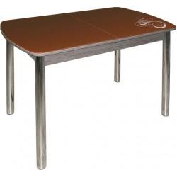 Стол  стеклянный трансформер М142.73