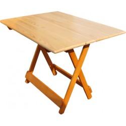 Складные столы.Стол  деревянный складной малый М 142.15