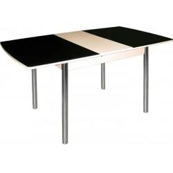 Стол обеденный раздвижной со стеклом М 145.65