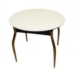Стол для кухни овальный  раздвижной  с каменной столешницей М 142.91