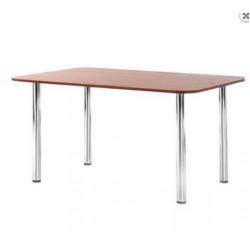 Стол для обеденной зоны Bekero на хромированном каркасе