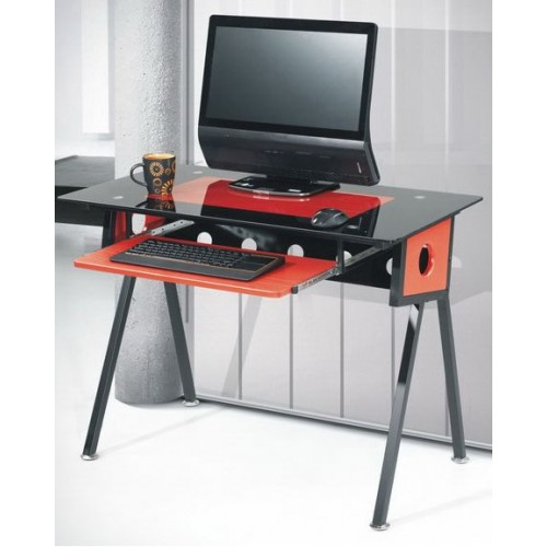 Компьютерный  стеклянный стол  CCК-1