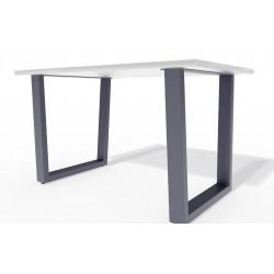 Двойные металлические опоры для стола T-Trapetsiya-84 в стиле Лофт