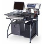 Компьютерный стол из стекла ССК-3 малогабаритный