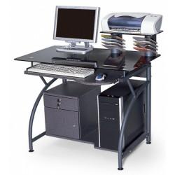 Компьютерный стол из стекла ССК-3