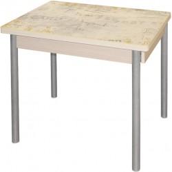 Стол для кухни М142.90 со стеклянной столешницей