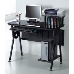 Стол компьютерный стеклянный ССК-2